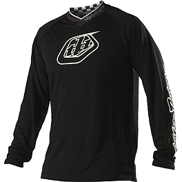 2014 Troy Lee Designs GP Jersey - Midnight - 2014 Troy Lee Designs GP Pants - Hot Rod