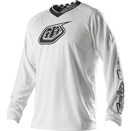 2014 Troy Lee Designs GP Jersey - White-Out - Main