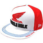 Troy Lee Designs Honda Team Fitted Hat - Dirt Bike Mens Casual