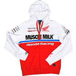 Troy Lee Designs Honda Team Zip Hoody - Dirt Bike Casual Clothing & Accessories