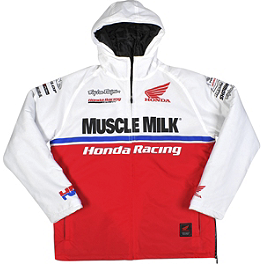 Troy Lee Designs Honda Team Jacket - Troy Lee Designs Honda Team Zip Hoody
