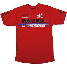 Troy Lee Designs Honda Team T-Shirt - Factory Effex Honda Ride Red Vert T-Shirt