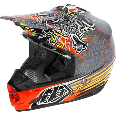 2013 Troy Lee Designs SE3 Helmet - Piston - Main