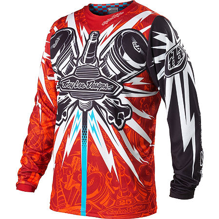 2013 Troy Lee Designs Speed Equipment Jersey - Piston Bone - Main