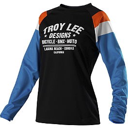 2014 Troy Lee Designs Women's Rev Jersey - 2013 Troy Lee Designs Women's GP Air Jersey - Savage