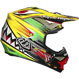 2014 Troy Lee Designs Air Helmet - P-51 - 2014 Troy Lee Designs SE3 Helmet - Pinstripe
