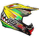 2014 Troy Lee Designs Air Helmet - P-51 - Troy Lee Designs Dirt Bike Protection