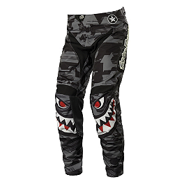 2014 Troy Lee Designs GP Pants - P-51 - 100% Strata SVS Roll-Off Goggles