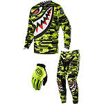 2014 Troy Lee Designs GP Air Combo - P-51 - SIDI Dirt Bike Riding Gear