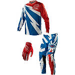 2014 Troy Lee Designs GP Air Combo - Cyclops - SIDI Dirt Bike Riding Gear