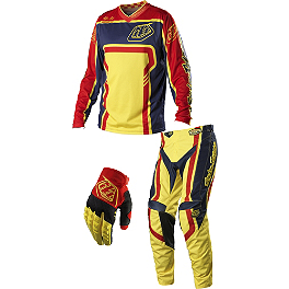 2014 Troy Lee Designs GP Combo - Factory - 2014 Troy Lee Designs GP Combo - Hot Rod