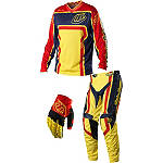 2014 Troy Lee Designs GP Combo - Factory - Troy Lee Designs Dirt Bike Pants, Jersey, Glove Combos