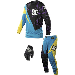 2014 Troy Lee Designs GP Combo - DC Limited Edition - Maddo - FMF Nickel Short Sleeve Shirt