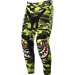 2014 Troy Lee Designs GP Air Pants - P-51 - 2013 Troy Lee Designs SE Pro Gloves