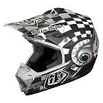 2014 Troy Lee Designs SE3 Helmet - Baja - Dirt Bike & Motocross Protection