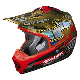 2014 Troy Lee Designs SE3 Helmet - A Day In The Dirt - 2014 Troy Lee Designs Air Helmet - Fonda