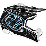 2014 Troy Lee Designs SE3 Helmet - Pinstripe - Troy Lee Designs Dirt Bike Off Road Helmets