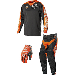 2014 Troy Lee Designs SE Pro Combo - Corse - 2014 Troy Lee Designs GP Combo - Hot Rod White