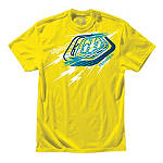 Troy Lee Designs Bolts T-Shirt - Mens Casual Motocross Dirt Bike T-Shirts