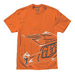 Troy Lee Designs Helmet T-Shirt - Utility ATV Mens Casual