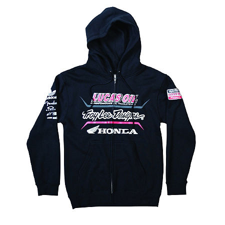 Troy Lee Designs Racing Fleece Zip Hoody - Main