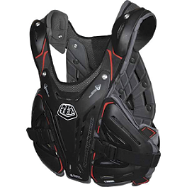 Troy Lee Designs Shock Doctor CP5900 Chest Protector - Troy Lee Designs Shock Doctor RG3955 Roost Guard