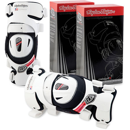 Troy Lee Designs Catalyst X Knee Brace Set - Main