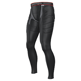 Troy Lee Designs Shock Doctor BP7705 Base Protective Pants - Troy Lee Designs Shock Doctor Youth BP7705 Base Protective Pants