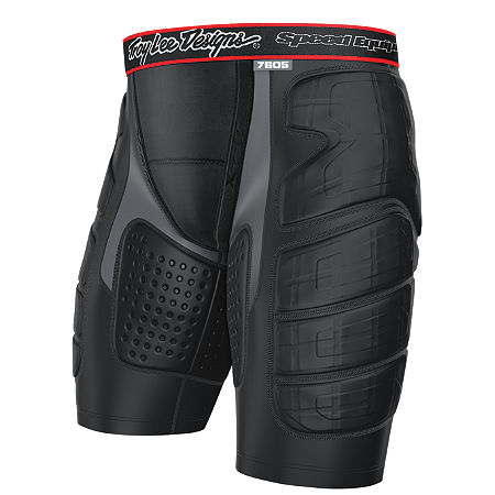 Troy Lee Designs Shock Doctor Youth BP7605 Base Protective Shorts - Main