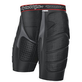 Troy Lee Designs Shock Doctor Youth BP7605 Base Protective Shorts - Alpinestars Youth Vapor Knee Protectors