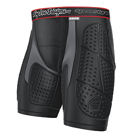 Troy Lee Designs Shock Doctor Youth BP5605 Base Protective Shorts - Troy Lee Designs Shock Doctor Youth BP4600 Hot Weather Base Protective Short