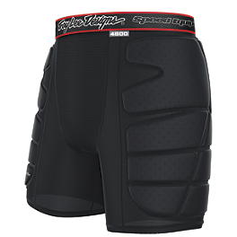 Troy Lee Designs Shock Doctor BP4600 Hot Weather Base Protective Short - EVS Tug Padded Riding Shorts