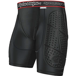 2014 Troy Lee Designs Shock Doctor Youth LPS3600 Base Protective Shorts - EVS Youth Tug Impact Shorts
