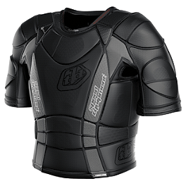 Troy Lee Designs Shock Doctor Youth BP7850 Hot Weather Base Protective Vest - Troy Lee Designs Shock Doctor Youth BP7605 Base Protective Shorts