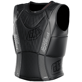 Troy Lee Designs Shock Doctor BP3800 Hot Weather Base Protective Vest - 2014 Fox Titan Sport Jacket - Sleeveless