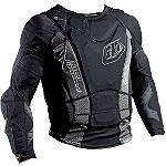 2014 Troy Lee Designs Shock Doctor Youth UPL7855-HW Base Protective Long Sleeve Shirt -  Motocross Chest and Back Protection