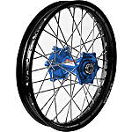 Talon Dirtstar Rear Wheel 2.15X19 - Blue/Black - Talon Dirt Bike Complete Wheels