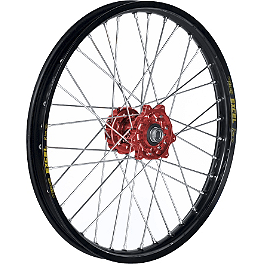 Talon Excel Front Wheel 1.60X21 - Red/Black - 2011 Honda CRF250R Talon Factory Front/Rear Wheel Combo - Red/Black