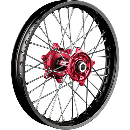 Talon Factory Front/Rear Wheel Combo - Red/Black - Main