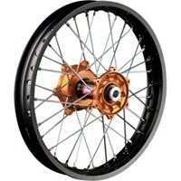 Talon Factory Front/Rear Wheel Combo - Orange/Black