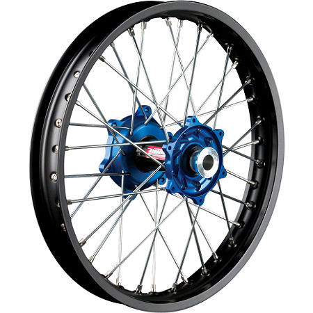 Talon Factory Front/Rear Wheel Combo - Blue/Black - Main