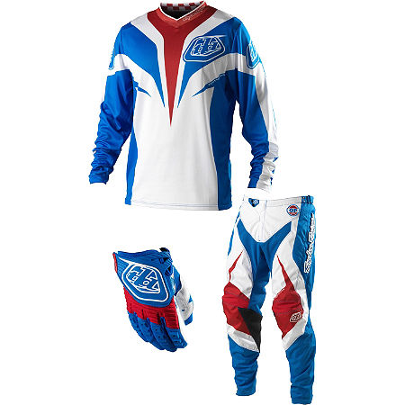 2013 Troy Lee Designs Youth GP Combo - Mirage - Main