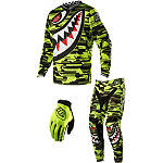 2014 Troy Lee Designs Youth GP Air Combo - P-51 - Utility ATV Pants, Jersey, Glove Combos