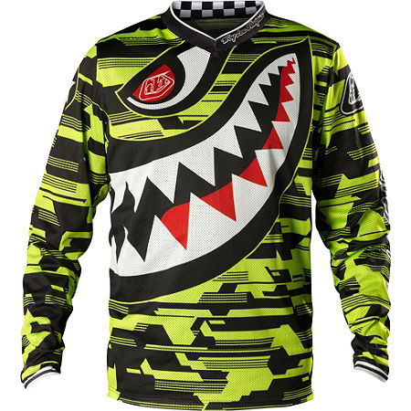 2014 Troy Lee Designs Youth GP Air Jersey - P-51 - Main