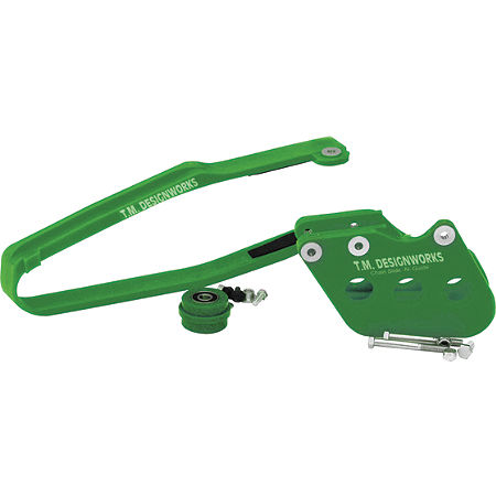 TM Designworks Baja Rally Chain Slide-N-Guide Kit - Green - Main