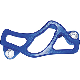TM Designworks Brake Caliper Guard - Blue - Torc1 Racing Shift Lever - Black/Blue