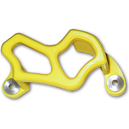 TM Designworks Brake Caliper Guard - Yellow - Acerbis Swing Arm Rub Plate - Yellow