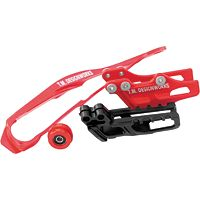 TM Designworks Dirt Cross Moto Chain Slide-N-Guide Kit - Red