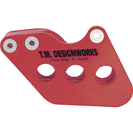 TM Designworks Rear Chain Slide-N-Guide - Red - 1999 Honda CR250 TM Designworks Magnetic Drain Plug