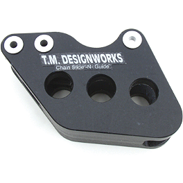 TM Designworks Rear Chain Slide-N-Guide - Black - 2000 KTM 200EXC TM Designworks 2 Stage Chain Rub Plate - Black